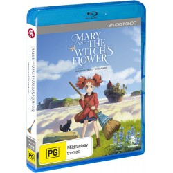 Mary & the Witch's Flower Blu-Ray