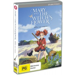 Mary & the Witch's Flower DVD