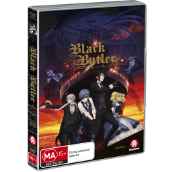 Black Butler Movie DVD Book of...