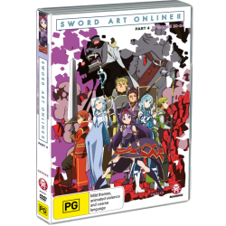 Sword Art Online 2 Part 4 DVD