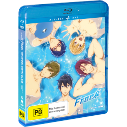 Free! Season 1 DVD/Blu-ray Combo