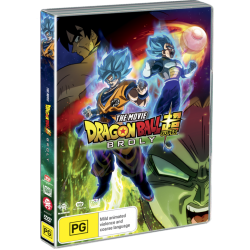 Dragon Ball Super Broly Movie DVD