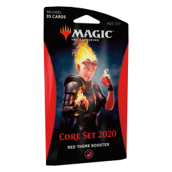 MTG Core Set 2020 Red Theme Booster