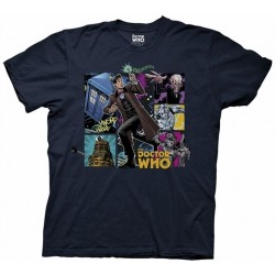 Doctor Who Comic Doctor Mens