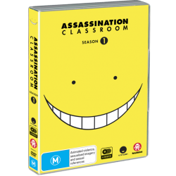 Assassination Classroom Season 1 DVD