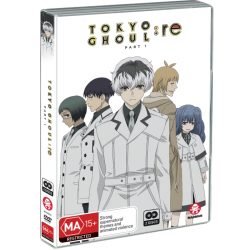 Tokyo Ghoul:Re Part 1 DVD Eps 1-12