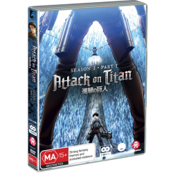 Attack on Titan S3 Part 1 DVD Eps...