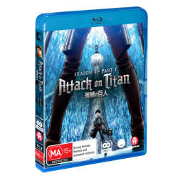 Attack on Titan S3 Part 1 Blu-ray...