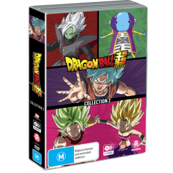Dragon Ball Super Collection 2 DVD