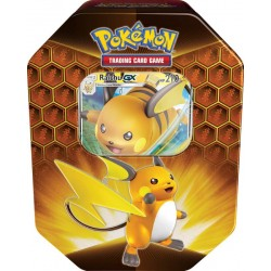 Pokemon Hidden Fates Raichu Tin