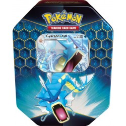 Pokemon Hidden Fates Gyarados Tin