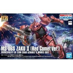 1/144 HG TOR K024 Zaku II Red...