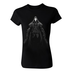 Overwatch Death Walks Womens T-Shirt