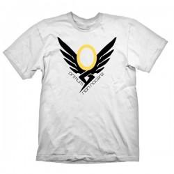 Overwatch Mercy Icon Mens T-Shirt