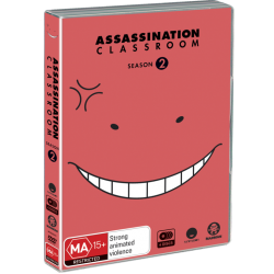 Assassination Classroom S2 DVD