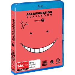 Assassination Classroom S2 Blu-ray