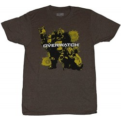 Overwatch Junk Brothers Mens T-Shirt
