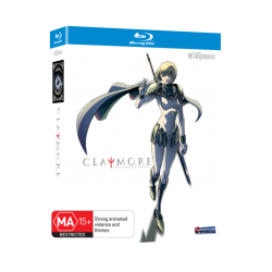Claymore Blu-ray Complete Series