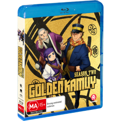 Golden Kamuy Season 2 Blu-ray Eps...