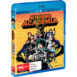My Hero Academia S1 DVD/Blu-ray...