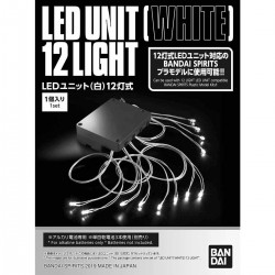 BANDAI White 12 Light LED Unit