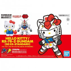 SDEX Hello Kitty/RX-78-2 Gundam...