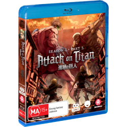 Attack on Titan S3 Part 2 Blu-ray...