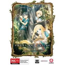 SAO Alicization Part 1 DVD (Eps...