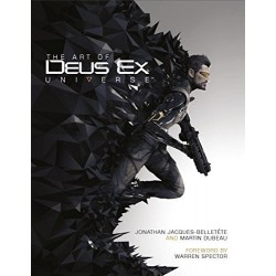 Art of Deus Ex Universe Hardcover
