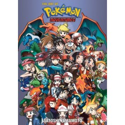 Art of Pokemon Adventures 20th...