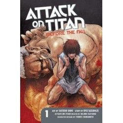 Attack on Titan: Before the Fall V01