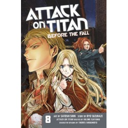 Attack on Titan: Before the Fall V08