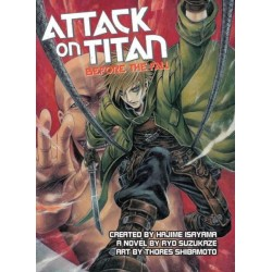 Attack on Titan Novel Before the...