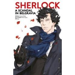 Sherlock Manga A Scandal in...