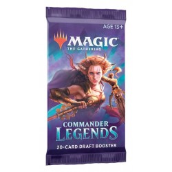 MTG Commander Legends Draft Booster