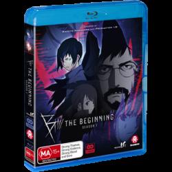 B The Beginning S1 Blu-ray Eps 1-12