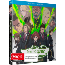Fairy Gone Part 2 Blu-ray Eps 13-24