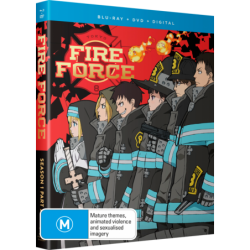 Fire Force S1 Part 2 DVD/Blu-ray...