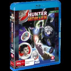 Hunter X Hunter Part 4 Blu-ray...