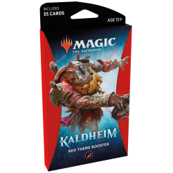 MTG Kaldheim Red Theme Booster