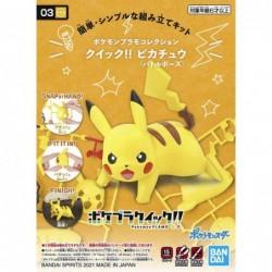 Pokepla Quick!! K03 Pikachu...