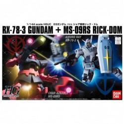 1/144 HG UC K000 RX-78-3 Gundam +...
