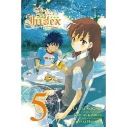 Certain Magical Index Manga V05
