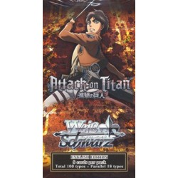 WS Attack on Titan Booster Weiss...