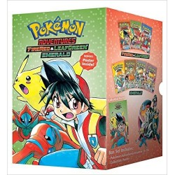Pokemon Adventures Boxset 4...