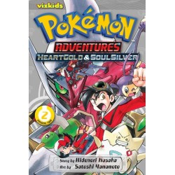 Pokemon Adventures: Heart Gold &...