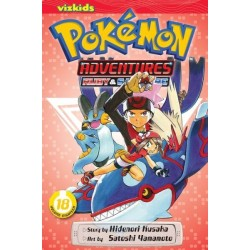 Pokemon Adventures V18