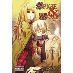 Spice & Wolf Manga V03