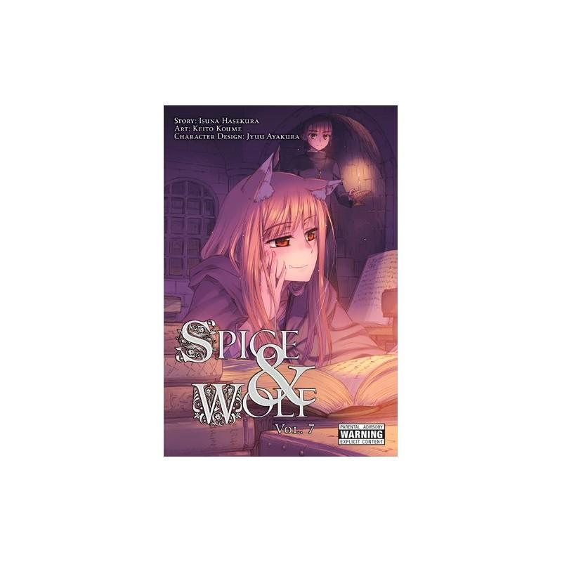 Spice & Wolf Manga V07