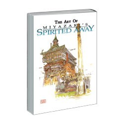 The Art of Spirited Away Hard Cover